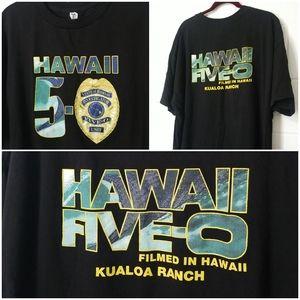Hawaii 5-0 Season 2 Filmed in Kualoa T Shirt 2XL